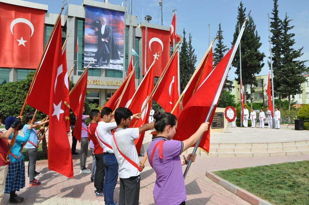 REYHANLI'DA 19 MAYIS ATATÜRK'Ü ANMA GENÇLİK VE SPOR BAYRAMI KUTLANDI