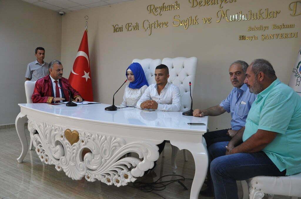 Başkan Şanverdi, Cemiloğlu Çiftinin Nikahını Kıydı