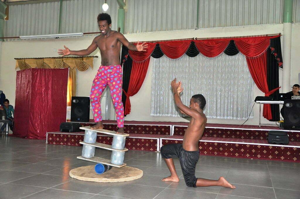 Reyhanlı'da Afrika Devlet Sirki'nden Gösteri