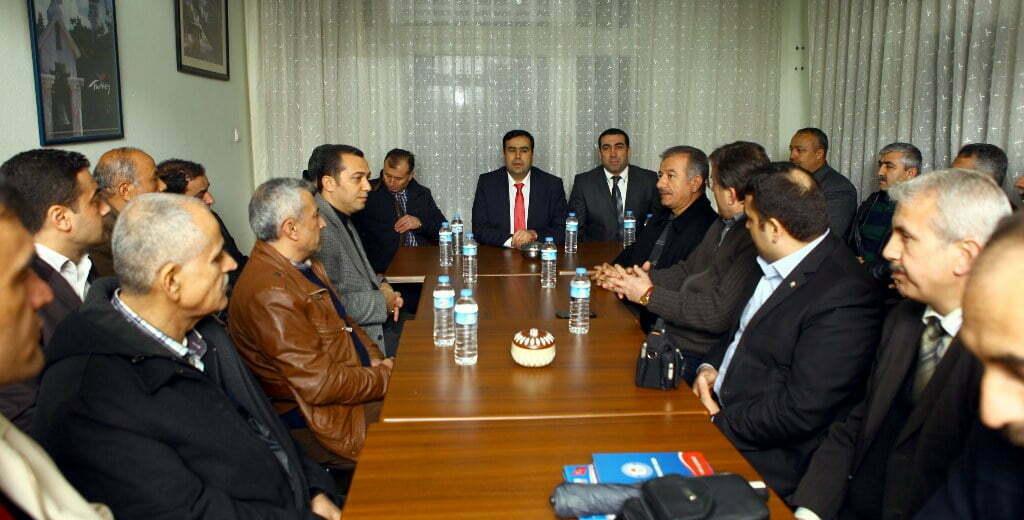 """AK Parti Halkla İlişkiler Başkan Yardımcısı Doç. Dr. Hüseyin Tutar: """"SİVİL TOPLUM KURULUŞLARI TOPLUMUN VİCDANIDIR"""""""