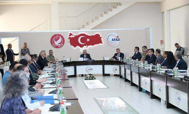 Vali Doğan Başkanlığında AFAD Koordinasyon Toplantısı Yapıldı