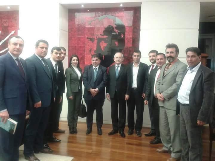 Anadolu Arapları Derneği yönetimi Ankara'da