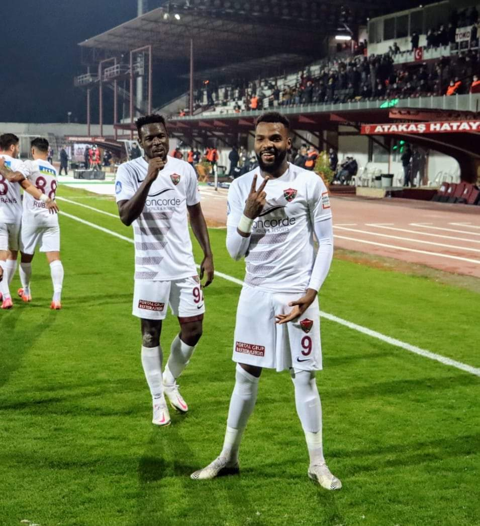 Atakaş Hatayspor'da Boupendza Şov, 2-1