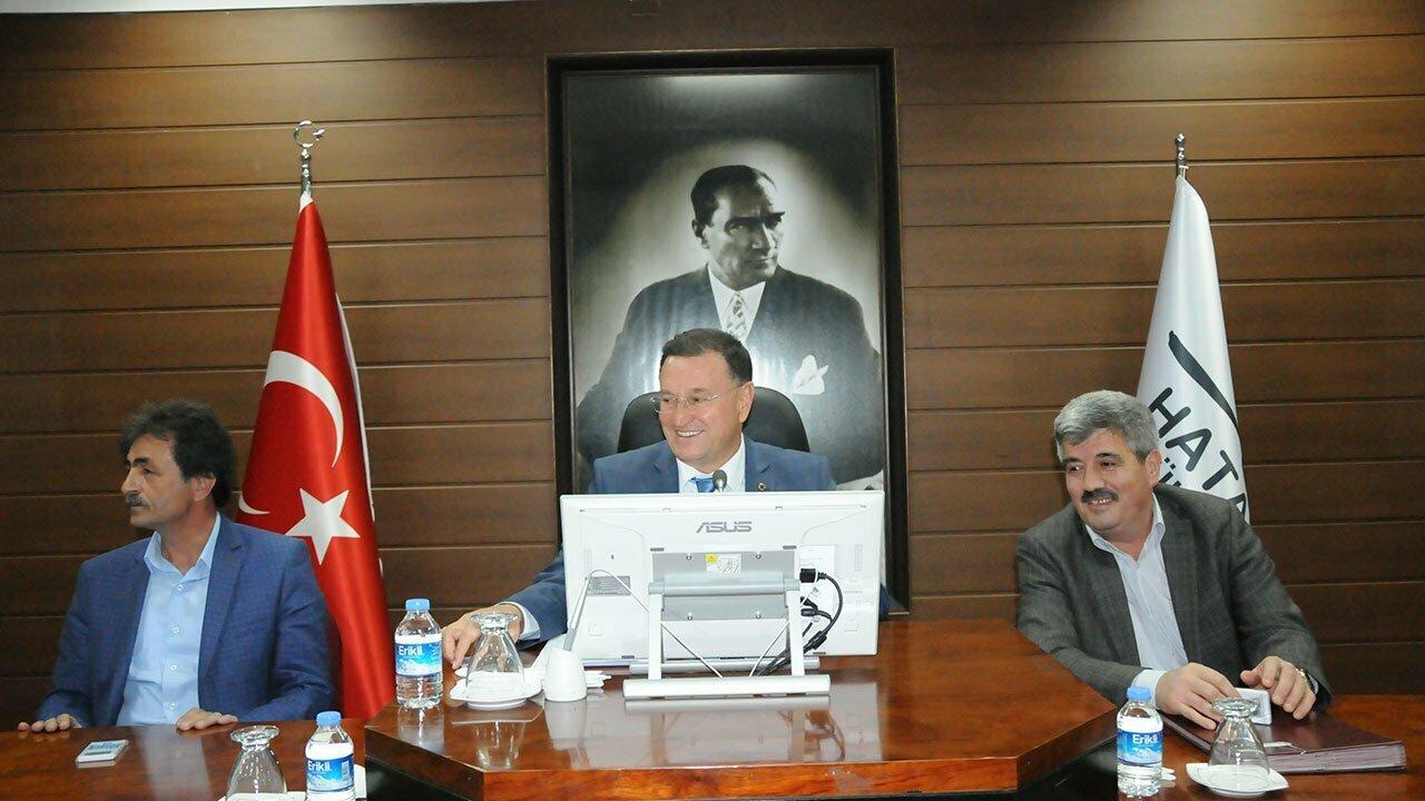 HBB MECLİSİ TOPLANDI