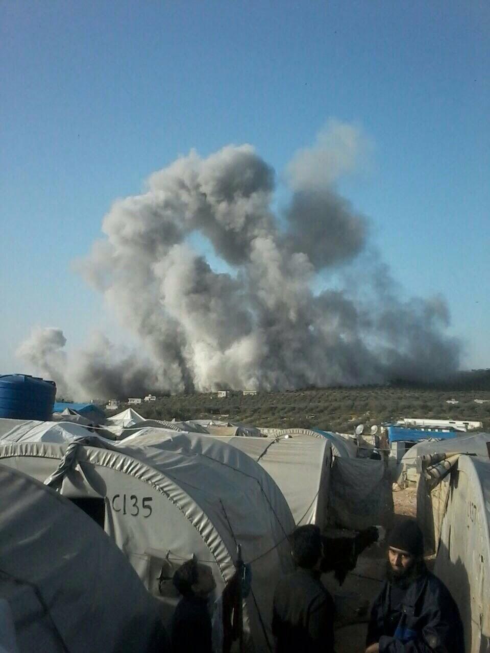 Atme'ye Hava Saldırısı