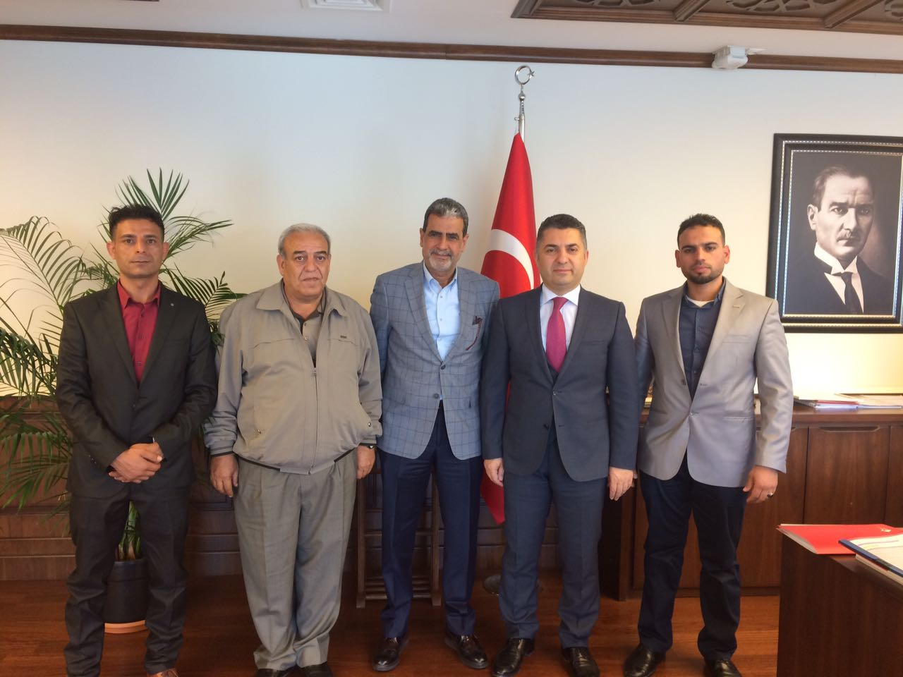 11 Mayıs Reyhanlı Şehitleri Derneği başkan ve üyeleri Milletvekili Şanverdi'yi ziyaret etti