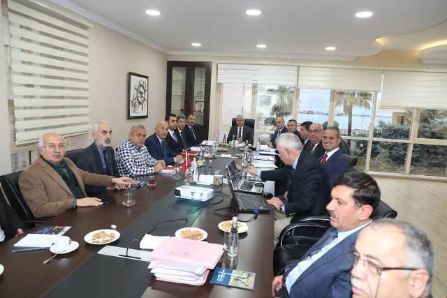 Vali Doğan Başkanlığında Marina Toplantısı Yapıldı