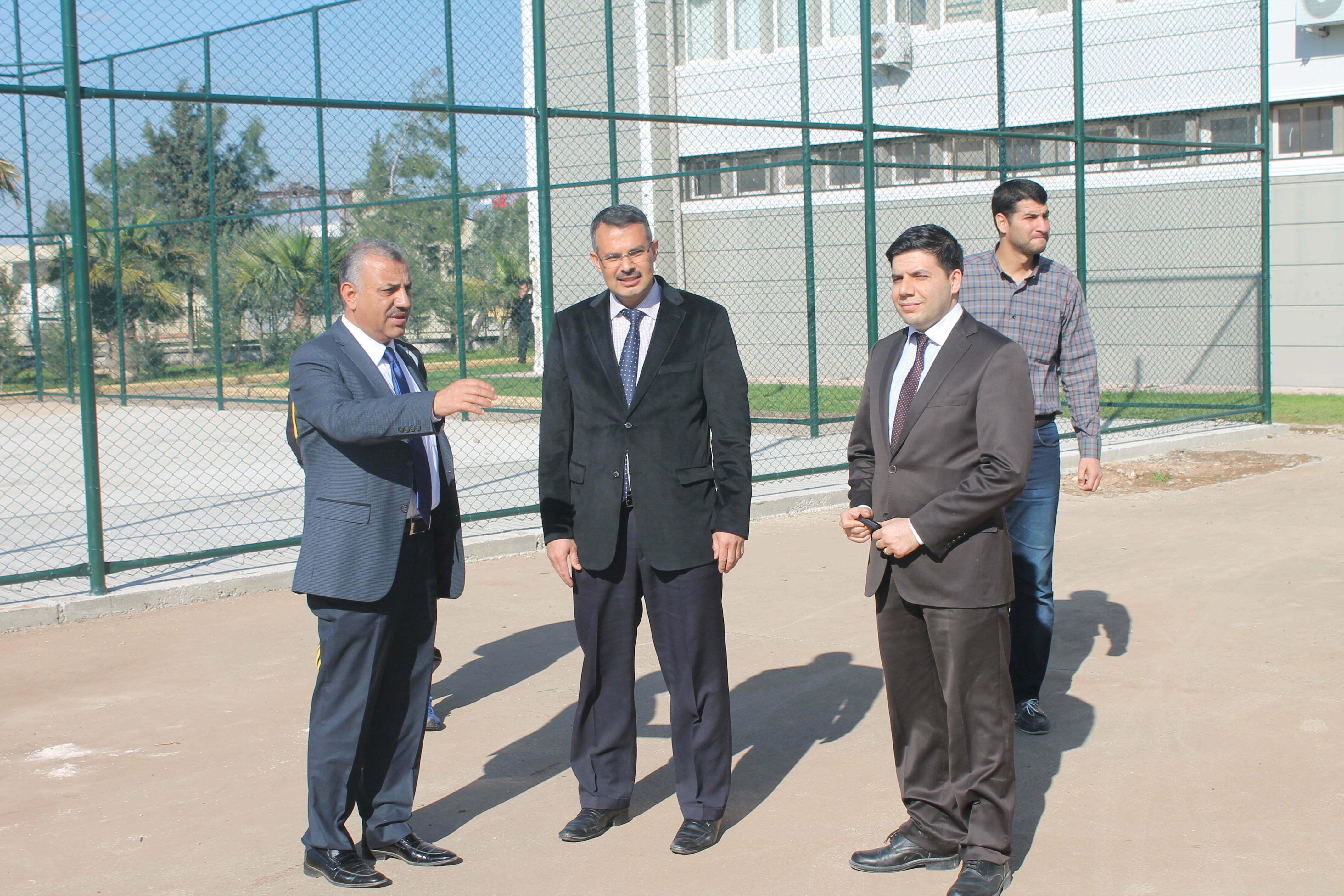 Başkan Şanverdi, Sodes Projesi Kapsamında Yapılan Çalışmaları  Yerinde İnceledi