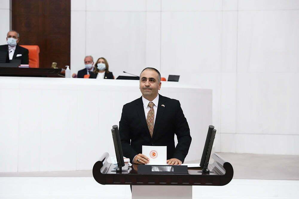 """MHP HATAY MİLLETVEKİLİ LÜTFİ KAŞIKÇI, """"Türkiye Cumhuriyeti devleti güçlü ve muktedirdir"""""""