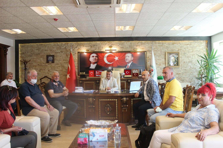 HGC'den, Başkan Hacıoğlu'na ziyaret