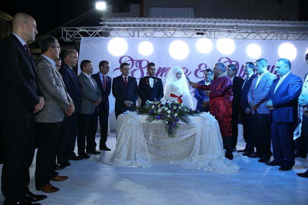Başkan Şanverdi, oğlunun nikahını kıydı