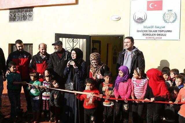 Atme Kampındaki Asbat Okulu Yenilendi