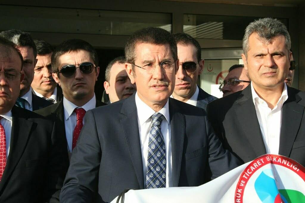 Gümrük ve Ticaret Bakanı Canikli, Cilvegözü'nde İncelemelerde Bulundu