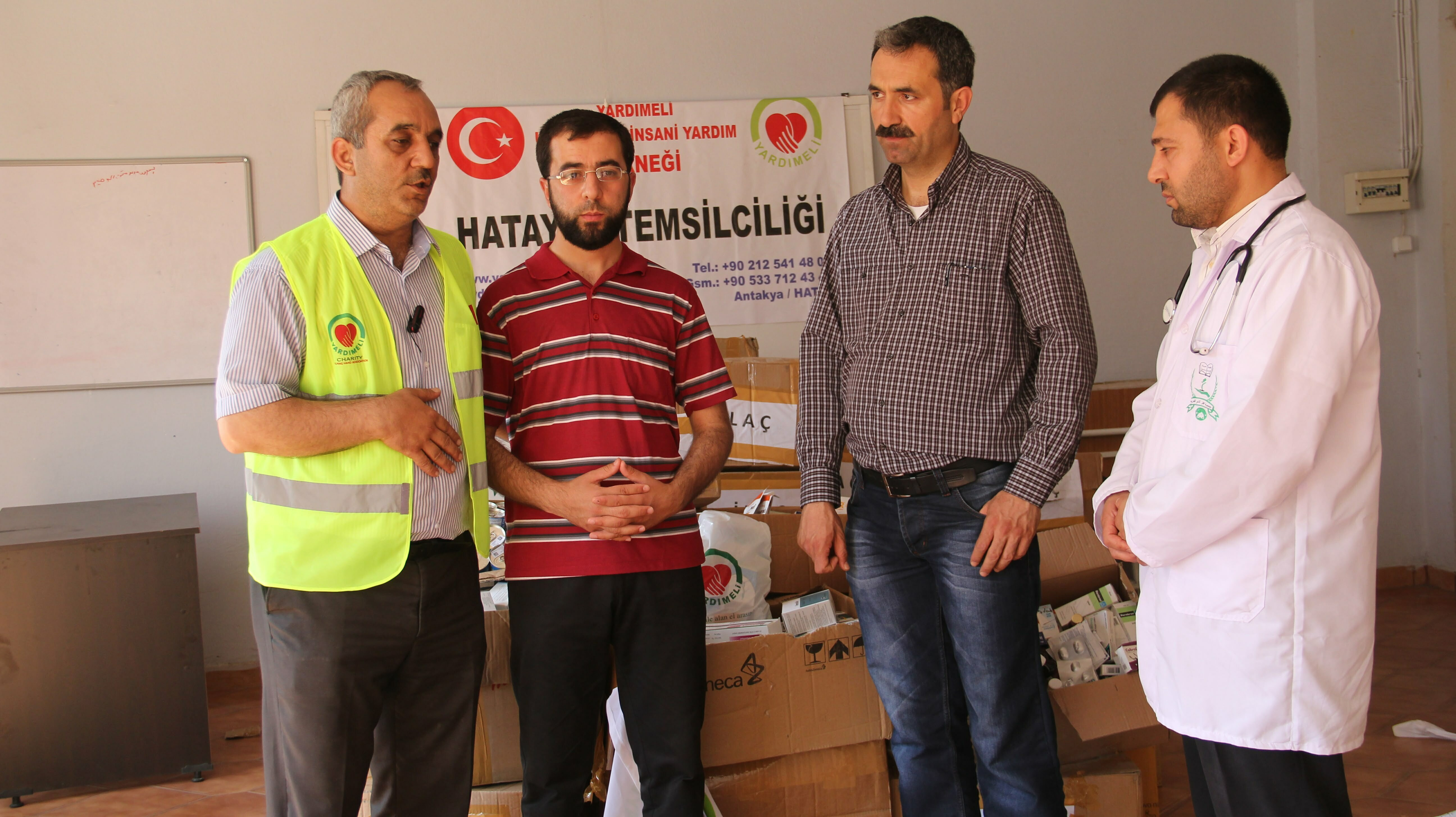 Suriye'ye yardım