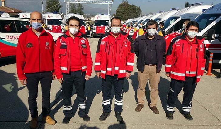Sağlık Bakanlığı'ndan Hatay'a 38 ambulans