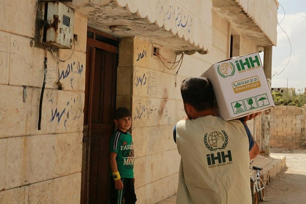 İhh'dan Halep'in Sıfır Noktasına  İnsani Yardım