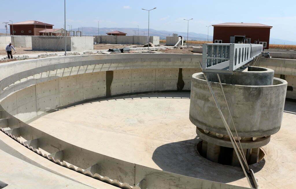 Reyhanlı'da Arıtma Tesisi'nin  Yüzde 80'i tamamlandı