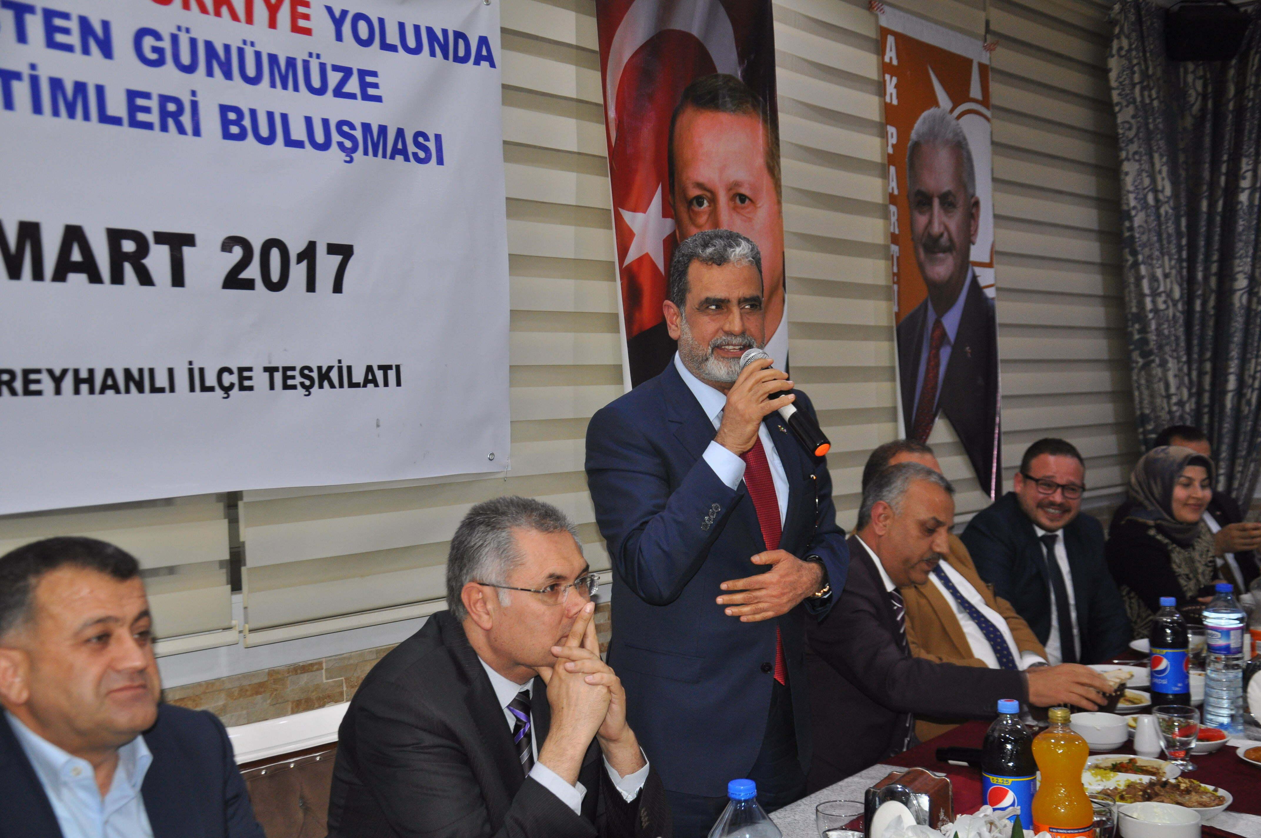 """Milletvekili Şanverdi, """"Yüce milletimiz gereken cevabı verecektir"""""""