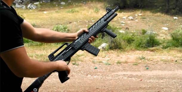 Harp Silahı Görünümlü  Yivsiz Tüfek Kullanımı 'Yasak'