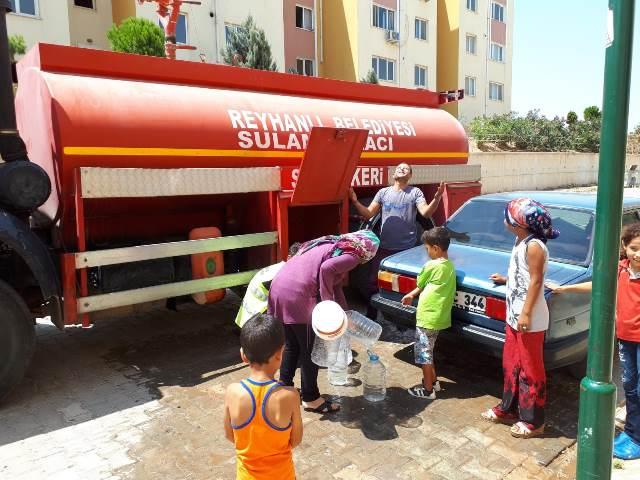 Reyhanlı Belediyesi'nden su kesintilerine açıklama