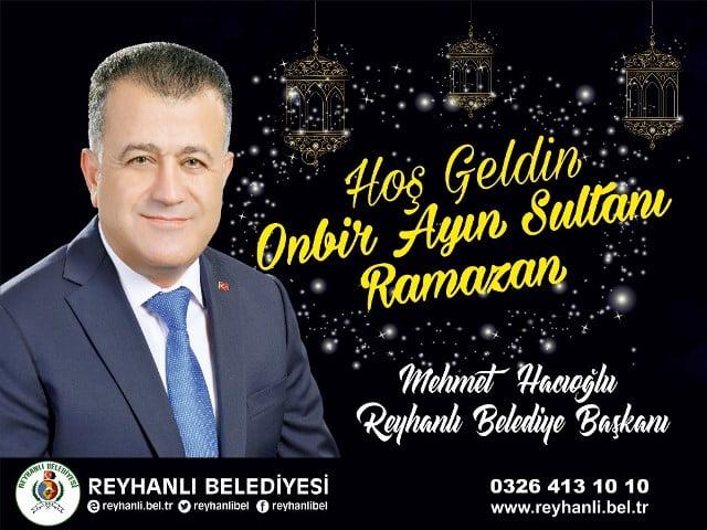 Başkan Hacıoğlu'nun  Ramazan Ayı Mesajı
