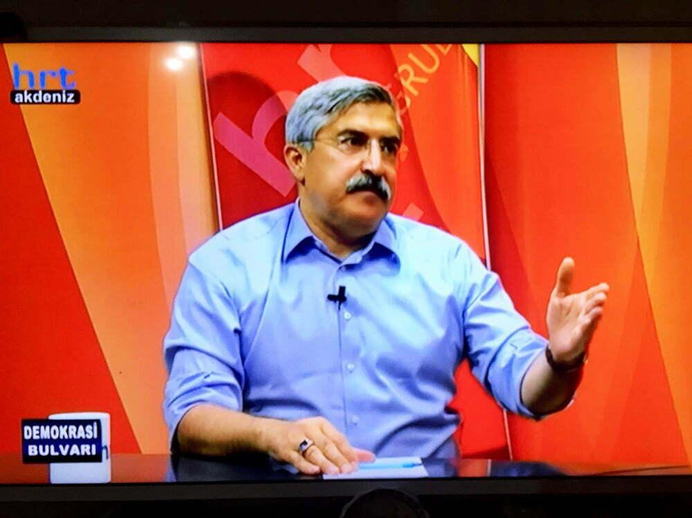 Milletvekili Yayman, Demokrasi Bulvarı'nda konuştu