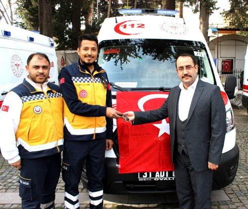 ACİL AMBULANS FİLOSU GENİŞLİYOR