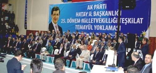 AK Parti'de temayül yoklaması gerçekleştirildi