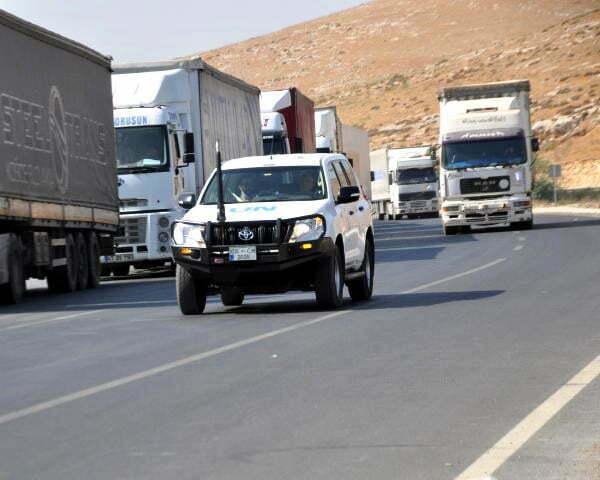 BM'den İdlib'e 52 TIR insani yardım