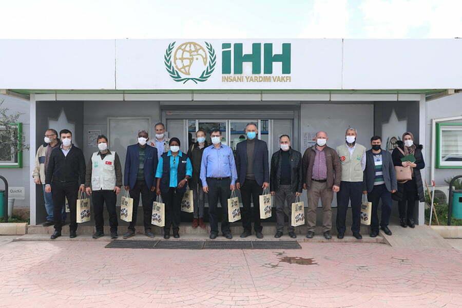 Dünya Sağlık Örgütü'nden İHH'ya ziyaret