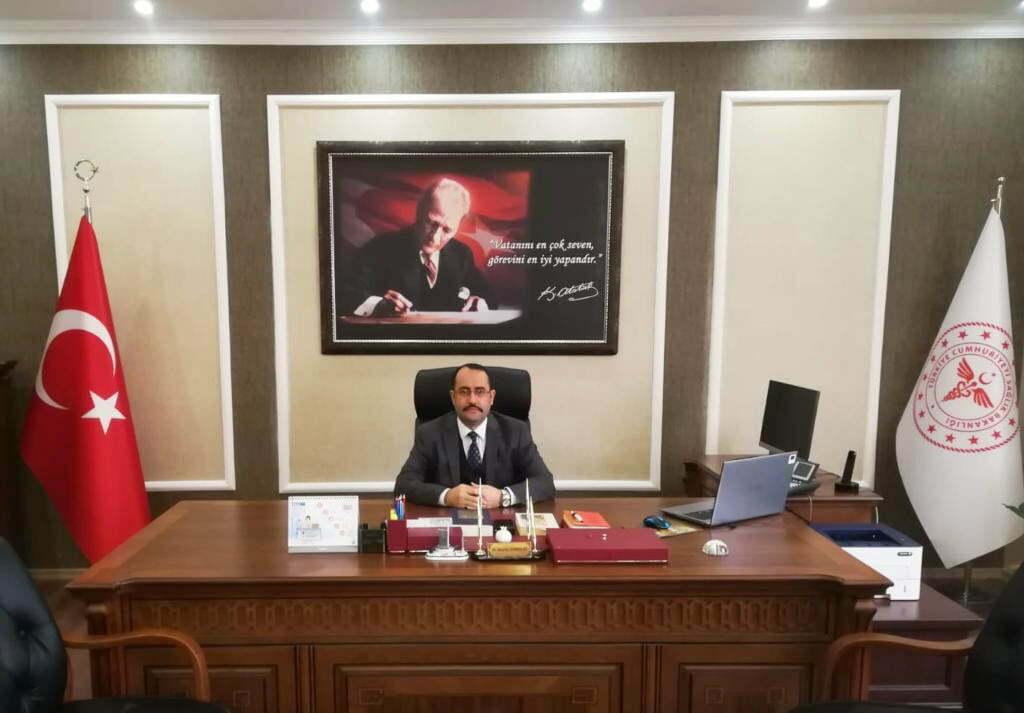 """İl Sağlık Müdürü Dr. Hambolat'tan  """"İş Sağlığı ve Güvenliği Haftası"""" Mesajı"""