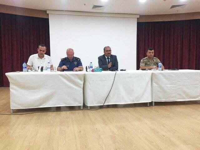 Okul güvenliği ve değerlendirme toplantısı yapıldı