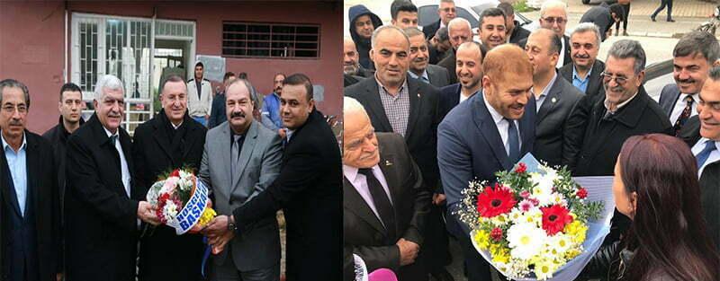 AK Parti ve CHP'nin Hatay Büyükşehir Belediyesi başkan adayları sahaya indi, gözler MHP'de