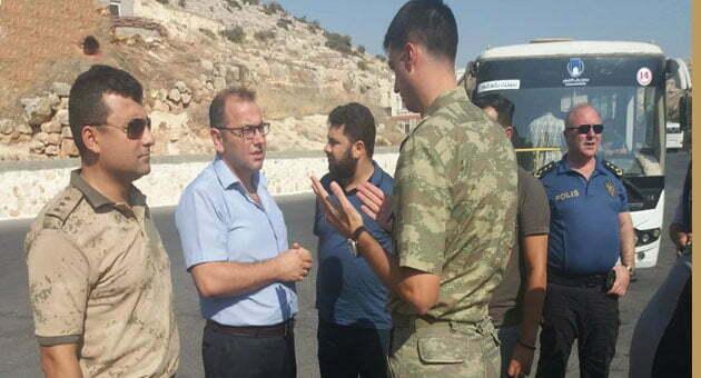 Kaymakam Çobanoğlu, Güvenlik çalışmaları hakkında bilgi aldı