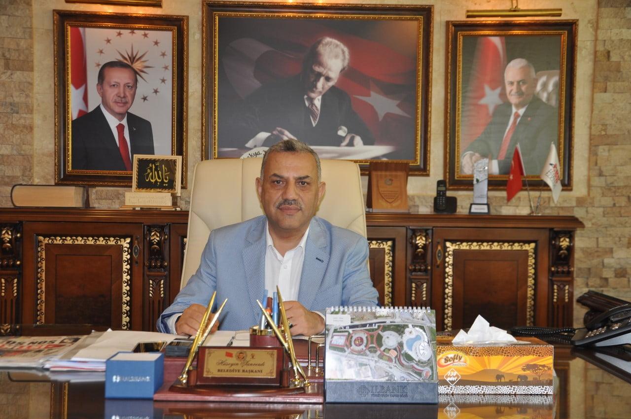 Başkan Şanverdi'nin  29 Ekim Cumhuriyet Bayramı Mesajı