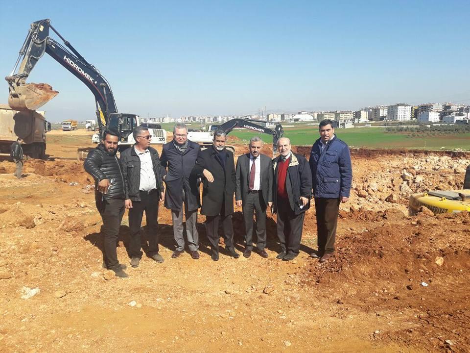 Reyhanlı Devlet Hastanesi inşaatına başlandı