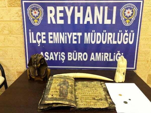 Reyhanlı'da Tarihi eser kaçakçılarına darbe