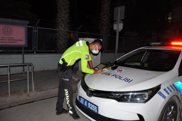 Reyhanlı'da tam kapanmanın ilk saatlerinde 68 bin 380 TL cezai işlem uygulandı