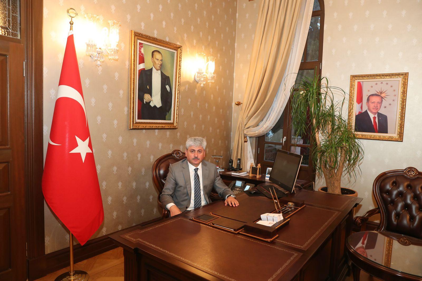 Vali Doğan'ın  29 Ekim  Cumhuriyet Bayramı Mesajı