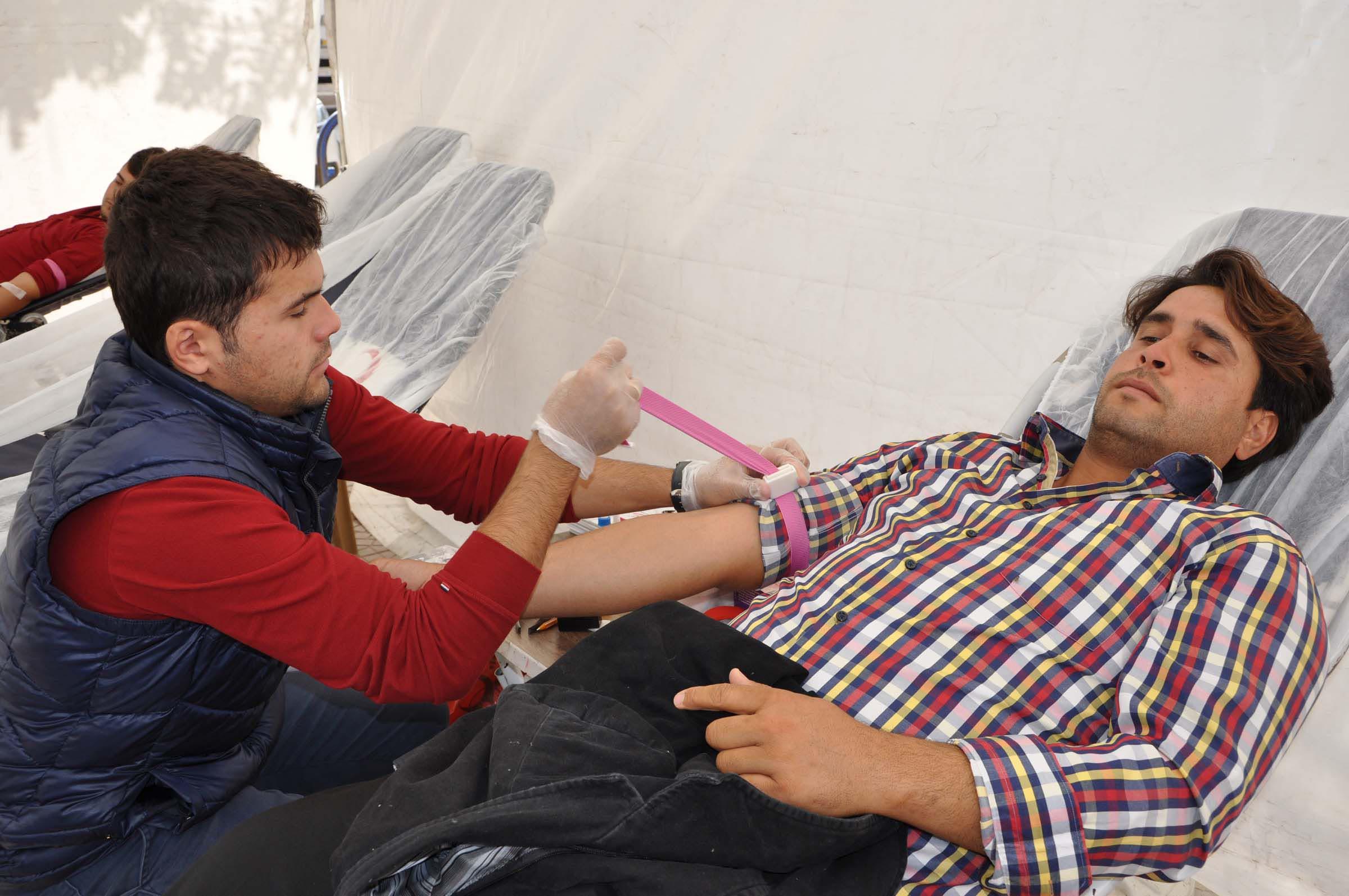 Hayat için kan verdiler