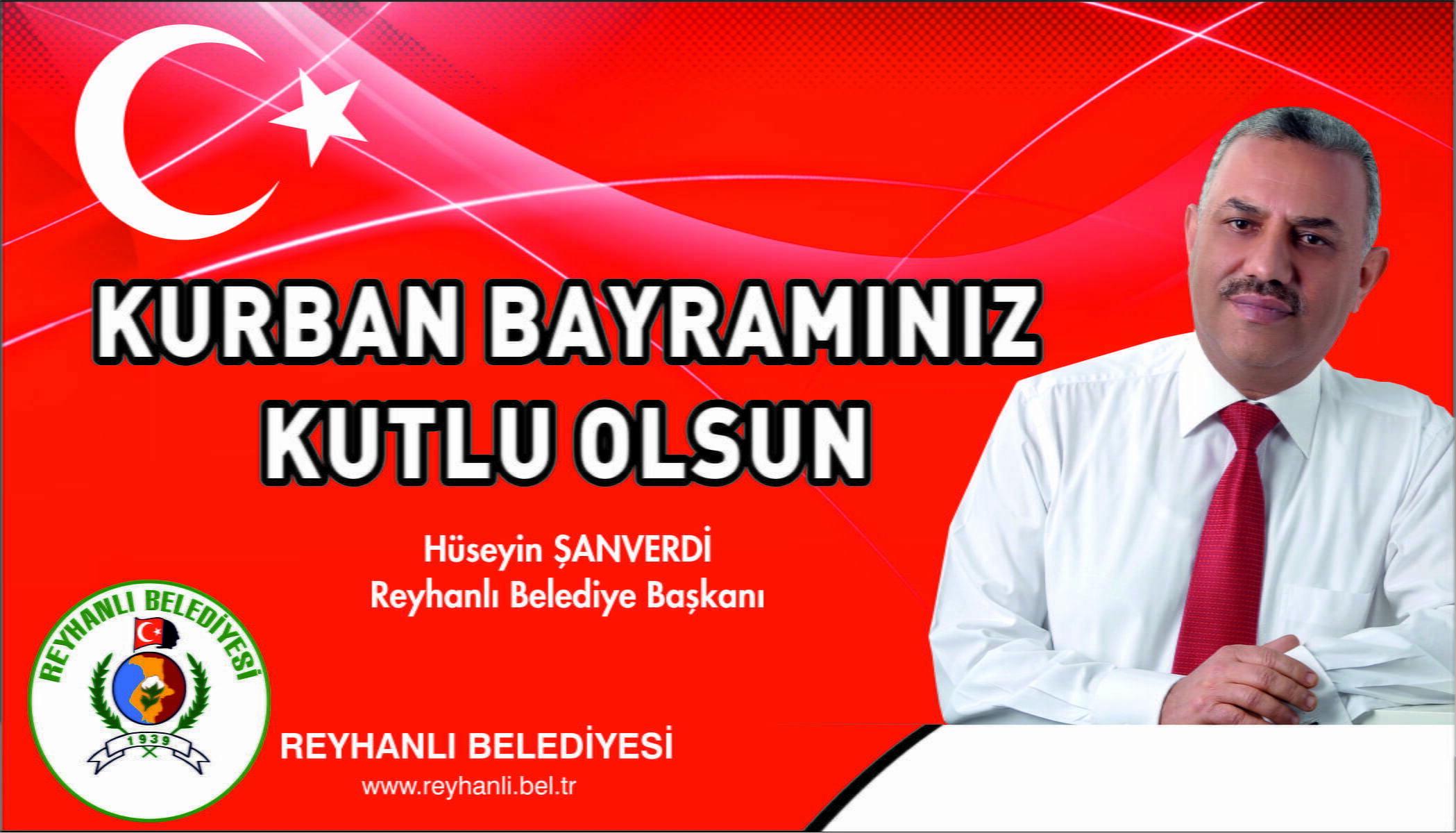 Başkan Şanverdi'den  Kurban Bayramı Mesajı
