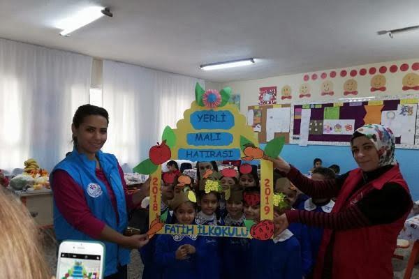 Okullarda yerli malı haftası etkinliği