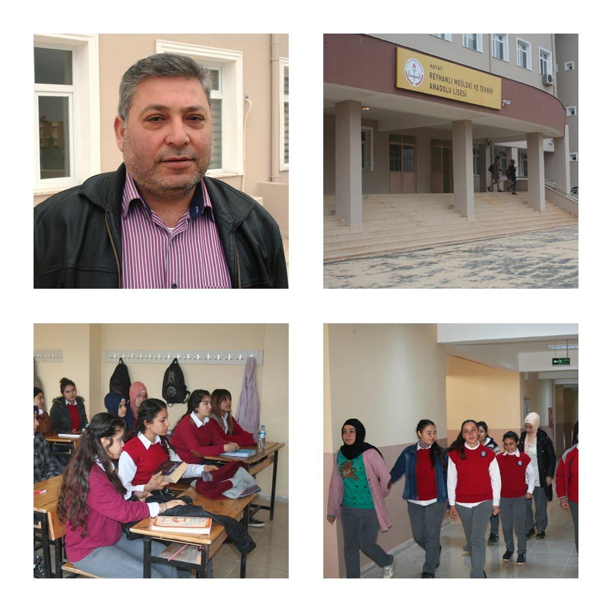 Reyhanlı Mesleki ve Teknik Anadolu Lisesi 46 yıl sonra yeni binasında