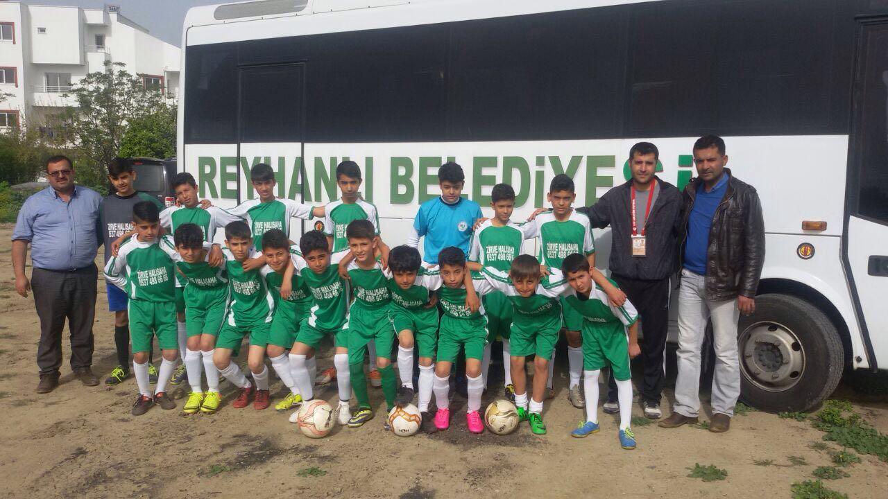 Reyhanlı'nın Küçük Futbolcuları Galibiyetle Döndüler