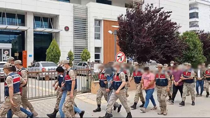 Reyhanlı'da Uyuşturucu operasyonu  10 gözaltı