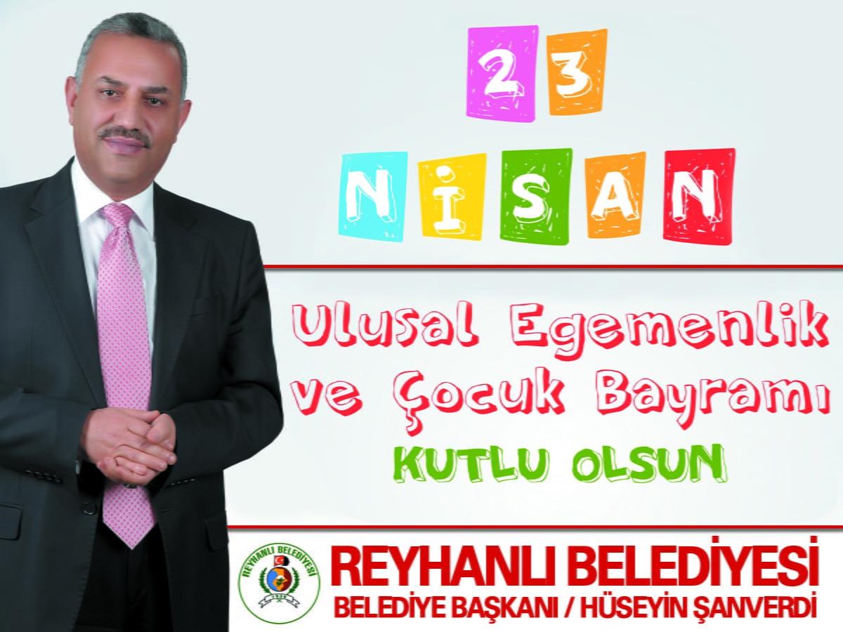 Başkan Şanverdi'nin 23 Nisan Ulusal Egemenlik ve Çocuk Bayramı mesajı