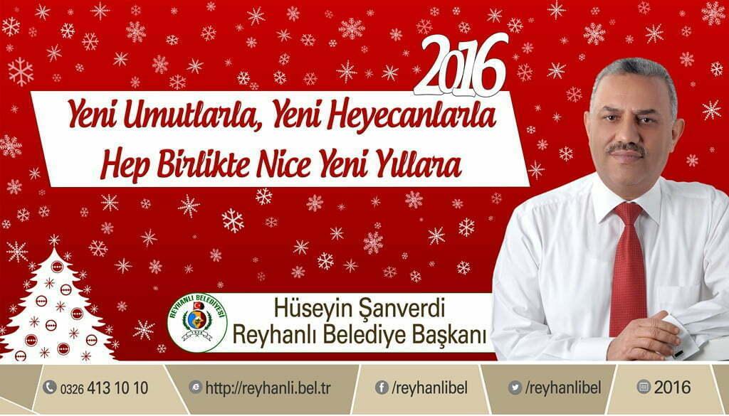 Başkan Şanverdi'nin Yeni Yıl Mesajı