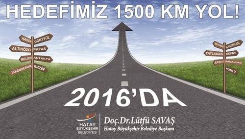 YOL YAPIMINDA 702 KM'LİK HBB İMZASI
